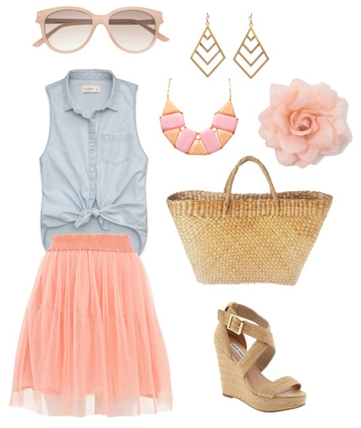 o-peach-mini-skirt-tulle-blue-light-top-bib-necklace-tan-shoe-sandalw-tan-bag-earrings-sun-howtowear-fashion-style-outfit-spring-summer-lunch.jpg