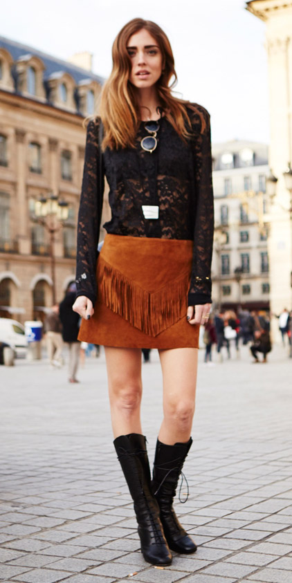 camel-mini-skirt-lace-fringe-suede-black-top-sheer-black-shoe-boots-fall-winter-hairr-lunch.jpg