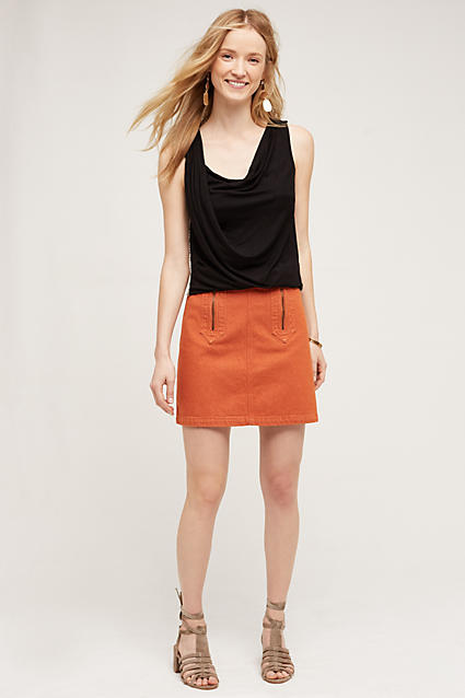orange-mini-skirt-black-top-earrings-wear-style-fashion-spring-summer-tan-shoe-sandals-blonde-lunch.jpg
