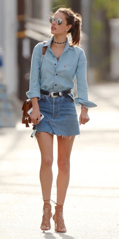 blue-light-mini-skirt-blue-light-collared-shirt-choker-pony-cognac-bag-wear-style-fashion-spring-summer-chambray-belt-alessandraa-tan-shoe-sandalh-streetstyle-hairr-lunch.jpg