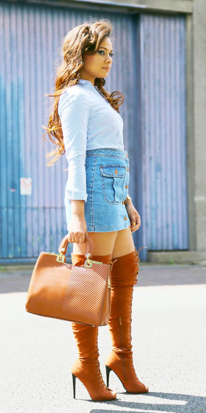 blue-light-mini-skirt-denim-blue-light-collared-shirt-cognac-bag-cognac-shoe-boots-otk-fall-winter-hairr-lunch.jpg