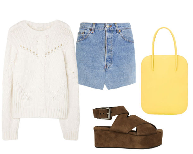 blue-light-mini-skirt-white-sweater-brown-shoe-sandalw-yellow-bag-howtowear-fashion-style-outfit-spring-summer-weekend.jpg