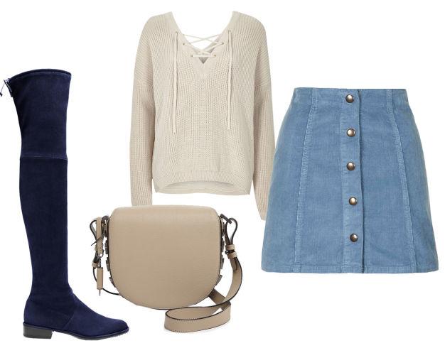 blue-light-mini-skirt-white-sweater-white-bag-blue-shoe-boots-overtheknee-denim-howtowear-fashion-style-outfit-fall-winter-lunch.jpg