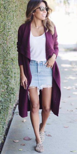 blue-light-mini-skirt-white-tee-tan-shoe-loafers-purple-royal-cardiganl-hairr-spring-summer-weekend.jpg