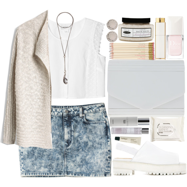 blue-light-mini-skirt-white-top-crop-necklace-pend-white-bag-nail-wear-style-fashion-spring-summer-jean-white-cardigan-studs-white-shoe-sandals-weekend.jpg