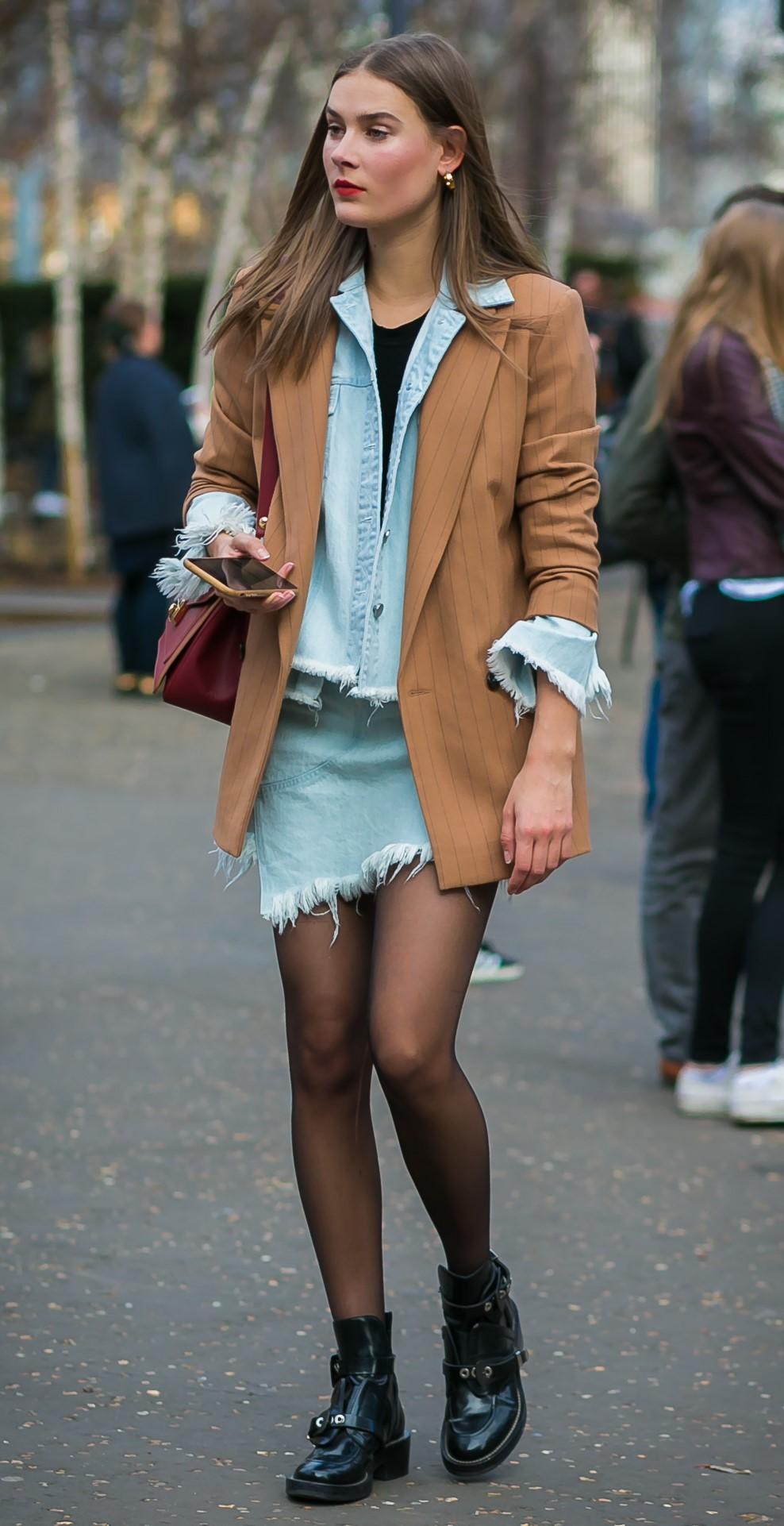 blue-light-mini-skirt-camel-jacket-blazer-layer-blue-light-jacket-jean-black-tee-black-tights-black-shoe-booties-hairr-burgundy-bag-fall-winter-weekend.jpg
