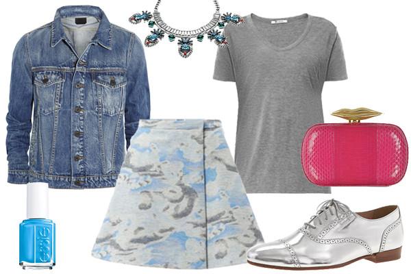 blue-light-mini-skirt-grayl-tee-blue-med-jacket-jean-print-nail-necklace-gray-shoe-brogues-silver-pink-bag-spring-summer-lunch.jpg