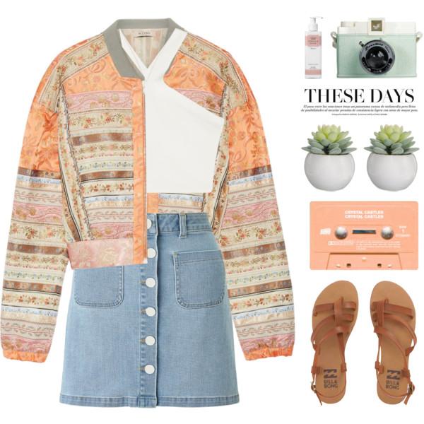 blue-light-mini-skirt-white-top-crop-peach-jacket-bomber-print-denim-cognac-shoe-sandals-howtowear-fashion-style-outfit-spring-summer-weekend.jpg