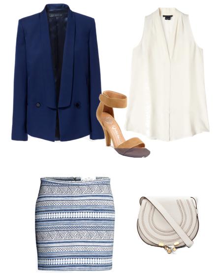 blue-light-mini-skirt-white-top-blouse-blue-navy-jacket-blazer-white-bag-tan-shoe-sandalh-print-howtowear-fashion-style-outfit-spring-summer-dinner.jpg