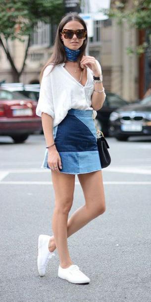 blue-med-mini-skirt-white-top-blue-med-scarf-neck-white-shoe-sneakers-black-bag-patch-spring-summer-hairr-weekend.jpg