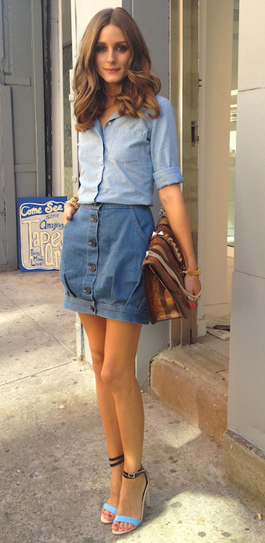 blue-med-mini-skirt-blue-light-collared-shirt-brown-bag-blue-shoe-sandalh-oliviapalermo-denim-howtowear-fashion-style-outfit-spring-summer-hairr-lunch.jpg