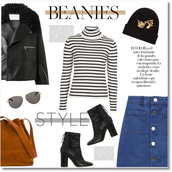 blue-med-mini-skirt-denim-white-sweater-turtleneck-stripe-black-shoe-booties-beanie-black-jacket-moto-sun-cognac-bag-fall-winter-lunch.jpg