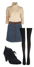 blue-med-mini-skirt-white-sweater-turtleneck-belt-black-tights-black-shoe-booties-howtowear-fashion-style-outfit-fall-winter-lunch.jpg