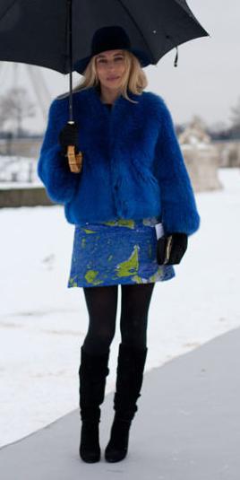 blue-med-mini-skirt-blue-med-jacket-coat-fuzz-hat-wear-style-fashion-fall-winter-statement-fur-black-tights-black-shoe-boots-cobalt-blonde-dinner.jpg