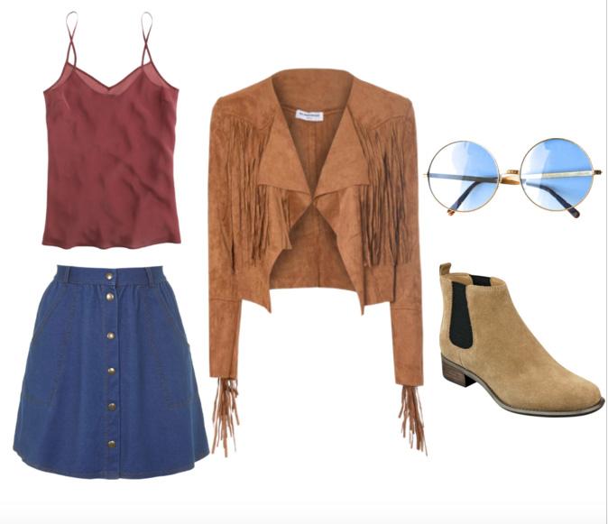 blue-navy-mini-skirt-button-burgundy-cami-camel-jacket-fringe-suede-tan-shoe-booties-sun-spring-summer-lunch.jpg