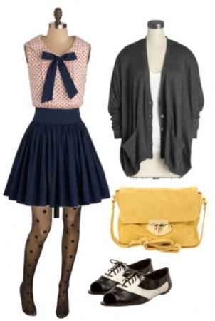 blue-navy-mini-skirt-r-pink-light-top-dot-bow-grayd-cardiganl-black-tights-yellow-bag-black-shoe-brogues-fall-winter-lunch.jpg