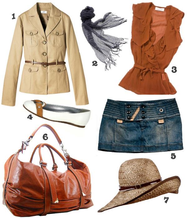 blue-navy-mini-skirt-orange-top-tan-jacket-utility-white-shoe-flats-blue-navy-scarf-cognac-bag-hat-howtowear-fashion-style-outfit-spring-summer-weekend.jpg