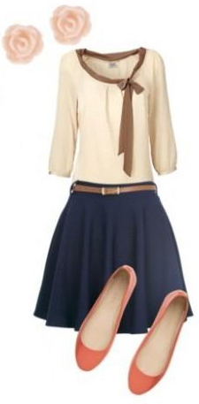 blue-navy-mini-skirt-white-top-bow-studs-orange-shoe-flats-belt-date-howtowear-fashion-style-spring-summer-outfit-dinner.jpg