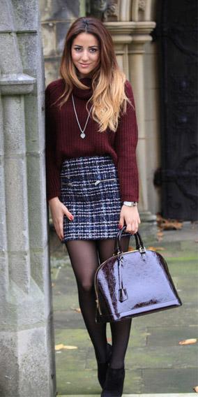 blue-navy-mini-skirt-tweed-burgundy-sweater-turtleneck-burgundy-bag-black-tights-black-shoe-booties-fall-winter-hairr-lunch.jpg