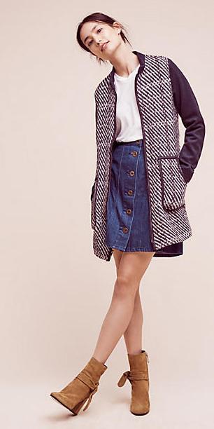 blue-navy-mini-skirt-white-tee-blue-navy-jacket-bun-wear-style-fashion-fall-winter-denim-tan-shoe-booties-brun-lunch.jpg