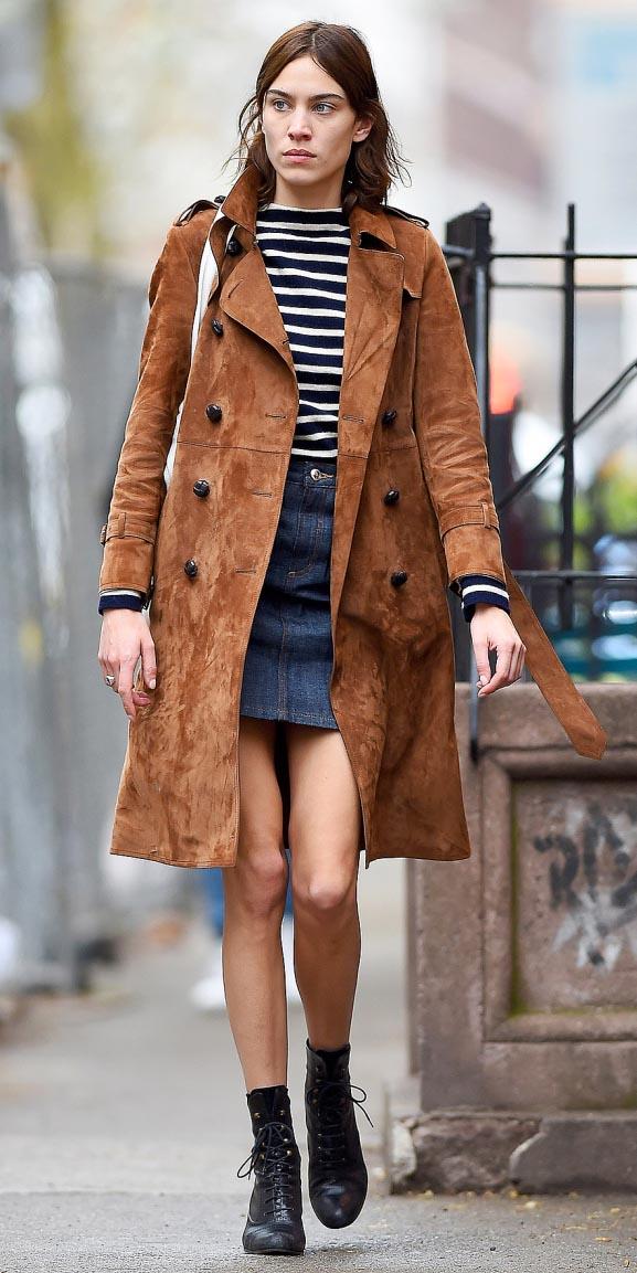 blue-navy-mini-skirt-denim-blue-navy-sweater-stripe-camel-jacket-coat-alexachung-black-shoe-booties-fall-winter-hairr-lunch.jpg