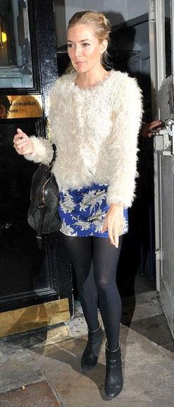 blue-navy-mini-skirt-print-white-jacket-fur-fuzz-black-bag-black-tights-black-shoe-booties-siennamiller-fall-winter-blonde-lunch.jpg