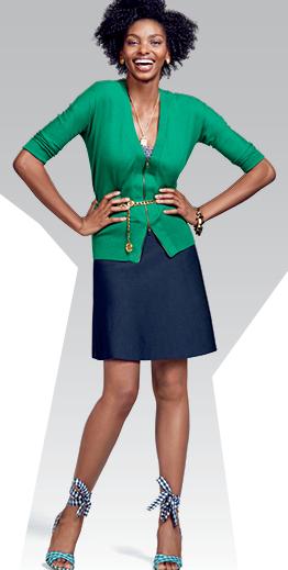 blue-navy-mini-skirt-green-emerald-cardigan-blue-shoe-sandalw-howtowear-fashion-style-outfit-spring-summer-brun-lunch.jpg