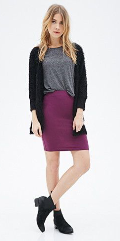 purple-royal-mini-skirt-grayd-tee-black-cardiganl-black-shoe-booties-fall-winter-blonde-weekend.jpg