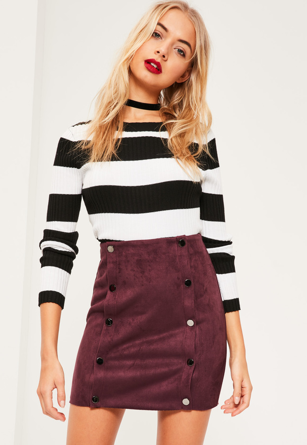purple-royal-mini-skirt-black-sweater-stripe-bold-choker-fall-winter-blonde-lunch.jpg