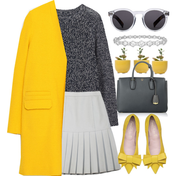 how-to-style-white-mini-skirt-grayd-sweater-yellow-shoe-pumps-sun-gray-bag-yellow-jacket-coat-spring-summer-fashion-lunch.jpg