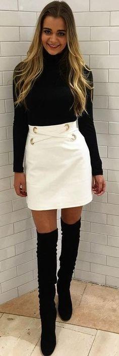 white-mini-skirt-black-sweater-turtleneck-black-shoe-boots-otk-fall-winter-blonde-dinner.jpg