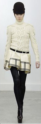 white-mini-skirt-white-sweater-belt-hat-wear-style-fashion-fall-winter-black-shoe-booties-plaid-black-tights-lunch.jpg