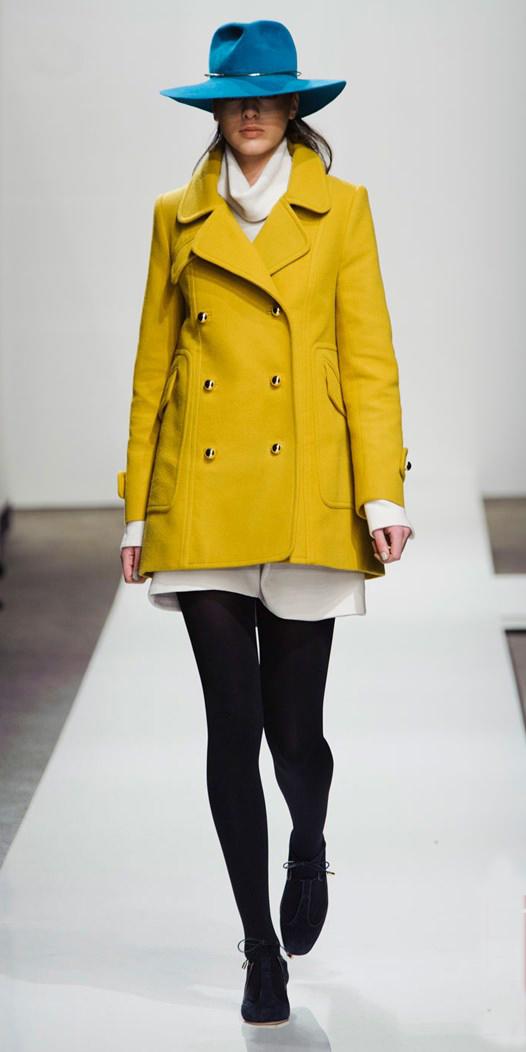 white-mini-skirt-white-sweater-turtleneck-peacoat-fall-winter-white-yellow-jacket-coat-hat-black-tights-black-shoe-booties-lunch.jpg