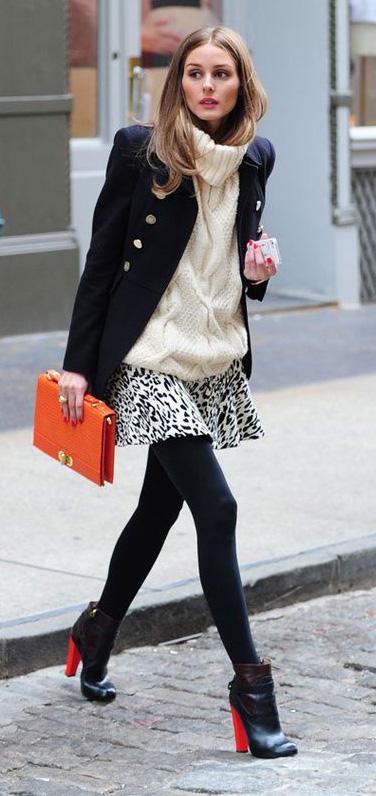white-mini-skirt-white-sweater-turtleneck-orange-bag-oliviapalermo-wear-style-fashion-fall-winter-animal-print-black-shoe-booties-black-tights-black-jacket-coat-hairr-lunch.jpg