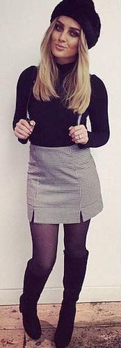 grayl-mini-skirt-black-sweater-turtleneck-wear-style-fashion-fall-winter-black-tights-beret-black-shoe-boots-black-bag-pack-blonde-dinner.jpg