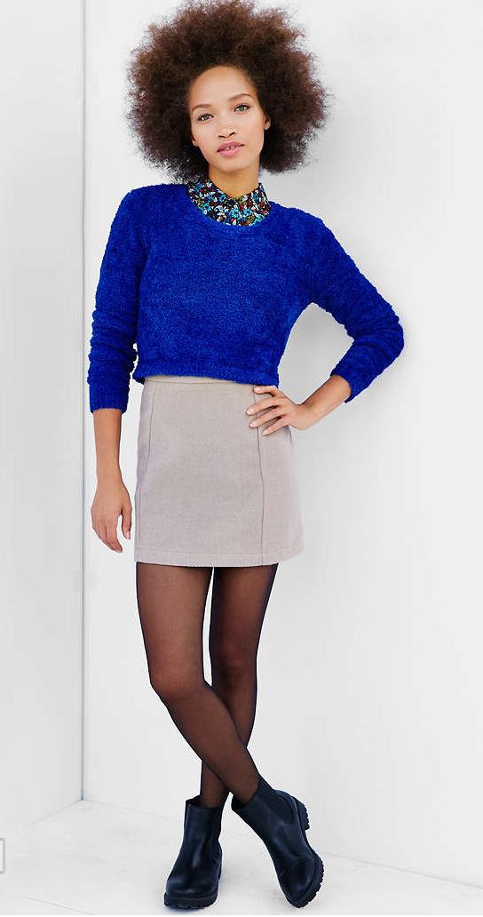 grayl-mini-skirt-blue-navy-sweater-wear-style-fashion-fall-winter-black-shoe-booties-cobalt-black-tights-brun-lunch.jpg