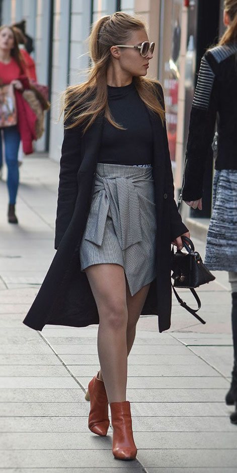 grayl-mini-skirt-black-tee-black-jacket-coat-black-bag-sun-cognac-shoe-booties-fall-winter-blonde-lunch.jpg