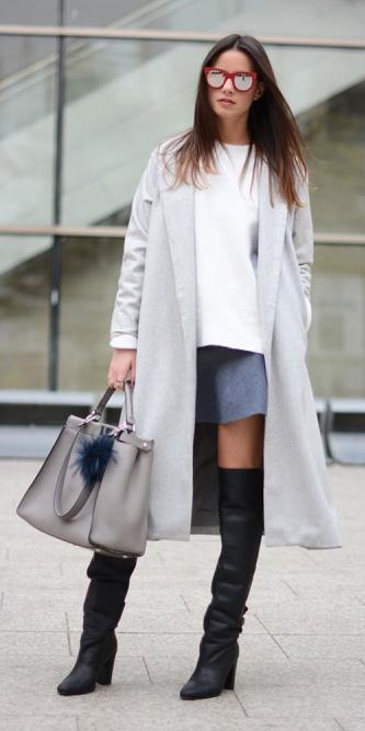 grayl-mini-skirt-white-sweater-grayl-jacket-coat-sun-black-shoe-boots-otk-gray-bag-fall-winter-hairr-lunch.jpg
