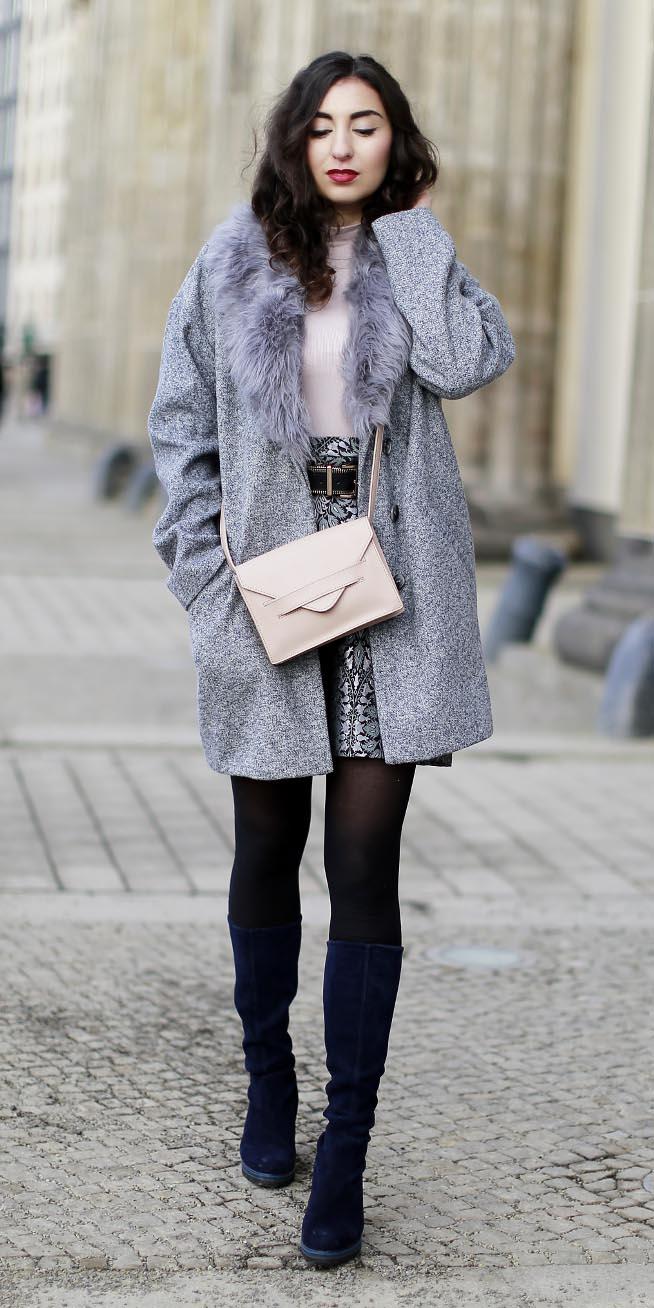 grayl-mini-skirt-white-bag-grayl-jacket-coat-black-tights-blue-shoe-boots-layer-fall-winter-brun-dinner.jpg