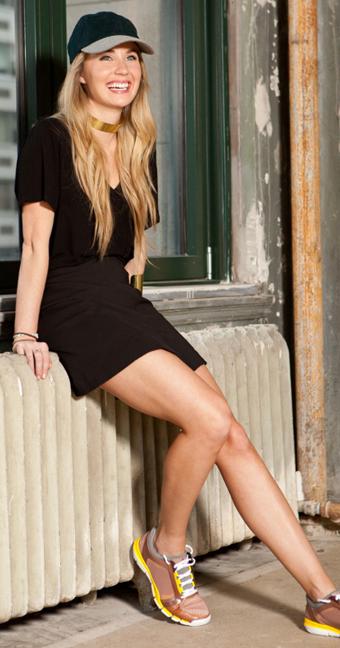 black-mini-skirt-black-tee-cap-wear-style-fashion-spring-summer-tan-shoe-sneakers-hat-choker-blonde-weekend.jpg