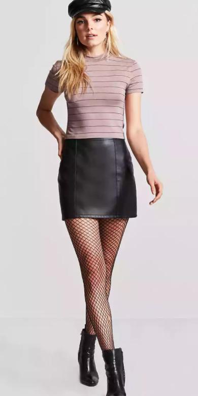 black-mini-skirt-hat-newsboycap-black-shoe-booties-purple-light-tee-black-tights-fishnet-fall-winter-blonde-lunch.jpg