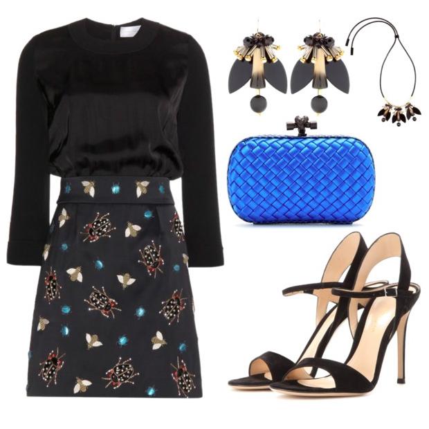 black-mini-skirt-blue-bag-clutch-black-shoe-sandalh-black-top-black-earrings-bib-necklace-embellished-fall-winter-holiday-christmas-outfits-dinner.jpg