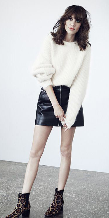 black-mini-skirt-white-sweater-leather-wear-style-fashion-fall-winter-leopard-tan-shoe-booties-brun-alexachung-lunch.jpg