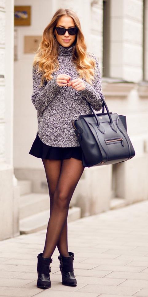 black-mini-skirt-grayl-sweater-turtleneck-sun-black-shoe-booties-wear-style-fashion-fall-winter-black-bag-tote-black-tights-blonde-lunch.jpg