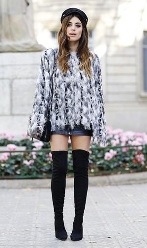 black-mini-skirt-white-sweater-fur-hairr-hat-black-bag-black-shoe-boots-otk-fall-winter-dinner.jpg