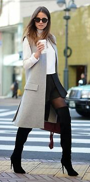 black-mini-skirt-white-sweater-grayl-vest-tailor-howtowear-fashion-style-outfit-fall-winter-turtleneck-sleeveless-black-tights-black-shoe-boots-burgundy-bag-hairr-work.jpg