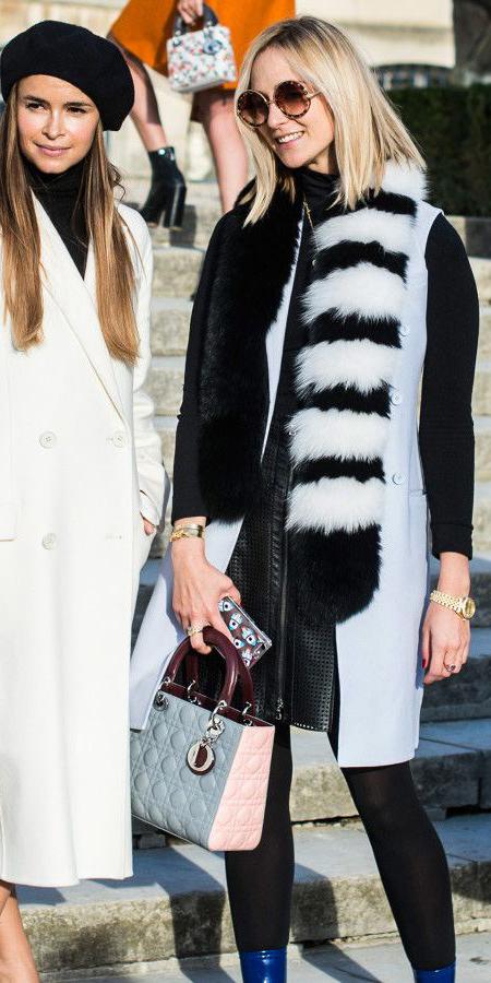 black-mini-skirt-blue-bag-black-tights-blue-light-scarf-fur-stole-blue-light-vest-tailor-blonde-sun-fall-winter-dinner.jpg