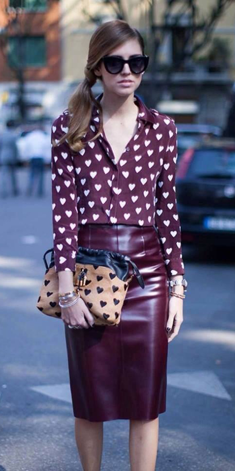 burgundy-pencil-skirt-burgundy-collared-shirt-heart-print-pony-fall-winter-hairr-dinner.jpg