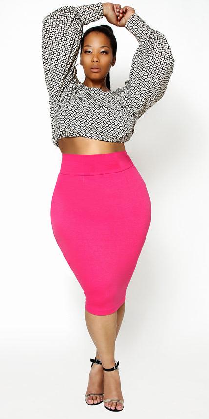 pink-magenta-pencil-skirt-white-crop-top-hoops-pony-spring-summer-brun-dinner.jpg