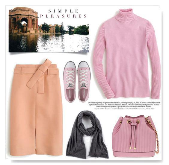 peach-pencil-skirt-pink-light-sweater-turtleneck-pink-bag-grayd-scarf-pink-shoe-sneakers-fall-winter-weekend.jpg